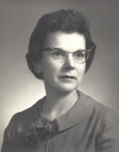 My grandmother, Ruth Kulamer Swetnam